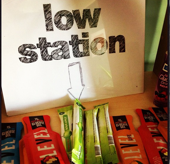 low station